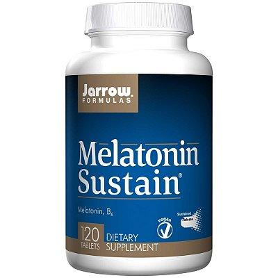 Melatonina 1 mg Sustain -  Jarrow Formulas - 120 comprimidos