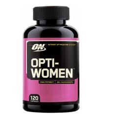 Multivitaminico Optwomen - Optimum Nutrition - 120 Cápsulas