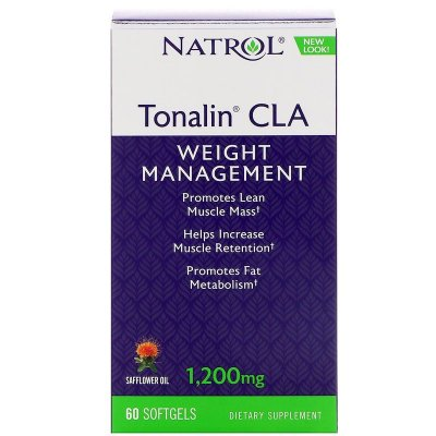 Tonalin CLA 1200 mg - Natrol - 60 Softgels