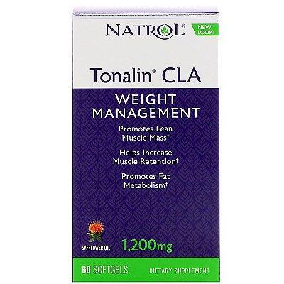 Tonalin CLA 1200 mg - Natrol - 60 Softgels