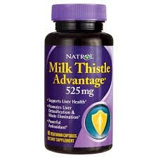 Milk Thistle advanced 525 mg - Natrol - 60 Cápsulas