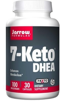 7-Keto DHEA 100 mg - Jarrow Formulas - 30 cápsulas Val: 07/19