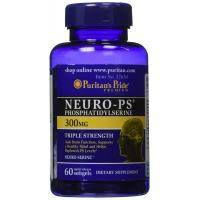 Neuro-PS (fosfatidilserina) 100 mg - Puritan´s Pride - 30 Cápsulas