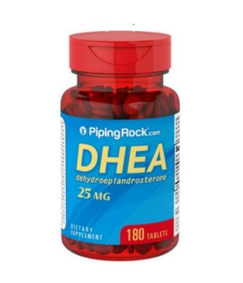 Dhea 25 mg - Piping Rock - 180 Tablets