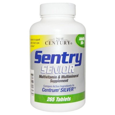 Sentry Senior Multivitamínico Completo +50 anos - 265 Tablets