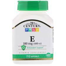 Vitamina E 400 UI - 21st Century - 110 Softgels