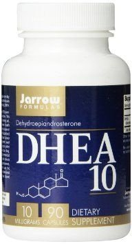 DHEA 10 mg - Jarrow Formulas - 90 cápsulas
