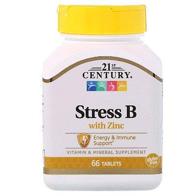 Stress B com Zinco - 21 ST Century - 66 tabletes