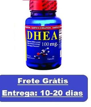 DHEA 100 mg - Earth´s Creation - 60 cápsulas (Envio Internacional)