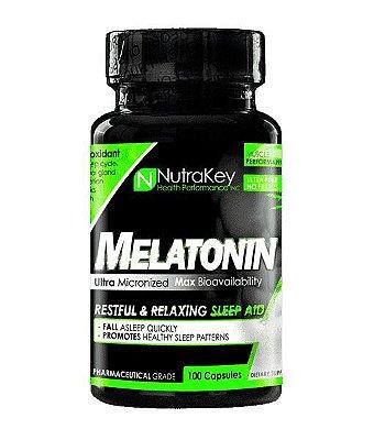Melatonina 3 mg - Nutrakey - 100 Cápsulas