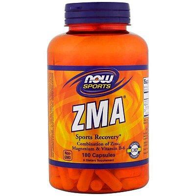 ZMA - Now Foods - 180 Cápsulas - Frete Grátis