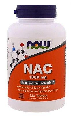 N- Acetil Cisteina (NAC) 100 mg - Now Foods - 120 capsulas
