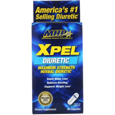 XPEL MHP - Poderoso diurético natural - MHP -  80 CÁPSULAS - Frete Grátis