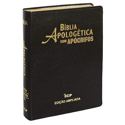 Bíblia Apologética com Apócrifos (Almeida Revista e Corrigida)