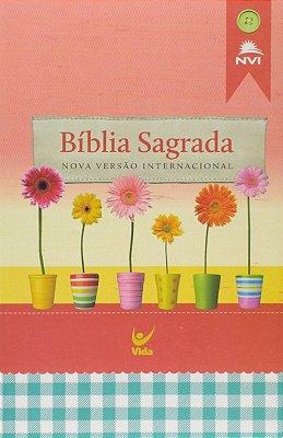 Bíblia Sabrada - Rosa (NVI)
