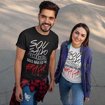 Camiseta Salvo Pela Graça