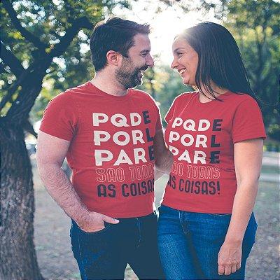 Camiseta Porque Dele, Por Ele, Para Ele