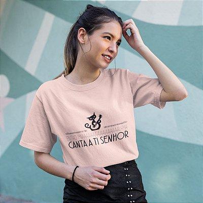 Camiseta Miauma Canta a Ti Senhor