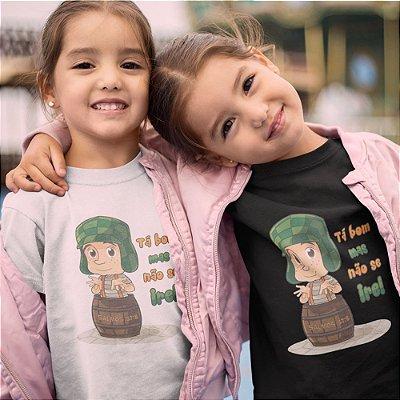 Camiseta Infantil - Não Se Ire