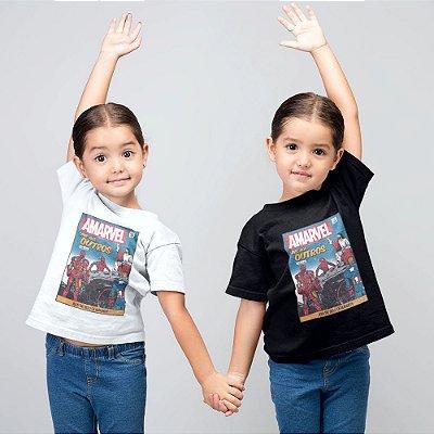 Camiseta Infantil - Amarvel