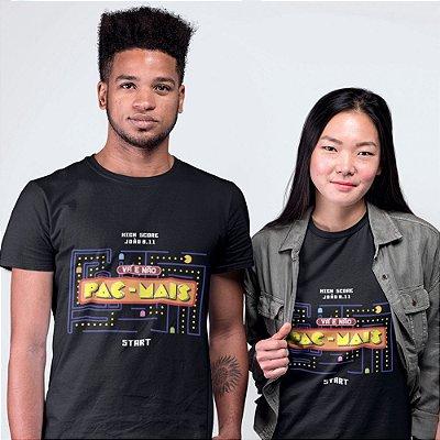 Camiseta Vá e Não Pac-Mais