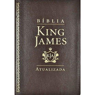 Bíblia King James Atualizada - Marrom (KJA)