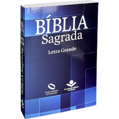 Bíblia Sagrada - Letra Grande - Capa Geometrica - Azul (Nova Almeida Atualizada)