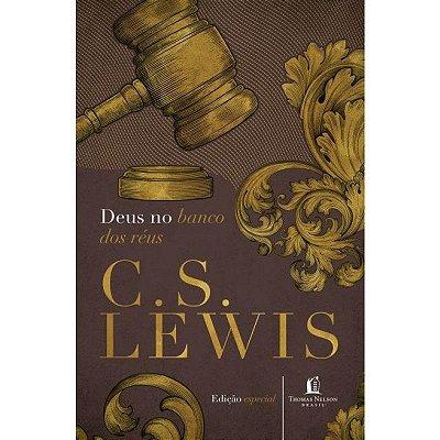 Livro - Deus no Banco dos Réus - C.S. Lewis