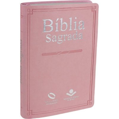 Bíblia Sagrada - Nova Almeida Atualizada (NAA) - Rosa - SBB