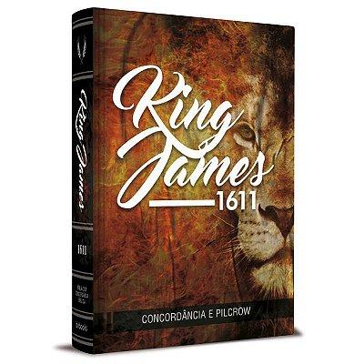 Bíblia - King James 1611 - Com Concordância - Leão - Bvbooks