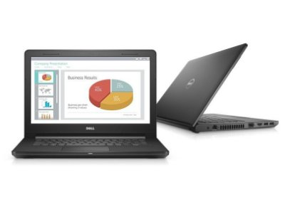 "Notebook Dell Vostro 3468 Intel Core i3 6006U Dual Core 2.0GHz, Tela 14"", 4GB RAM, 500GB HD, DVD-RW, Wi-Fi, Linux"