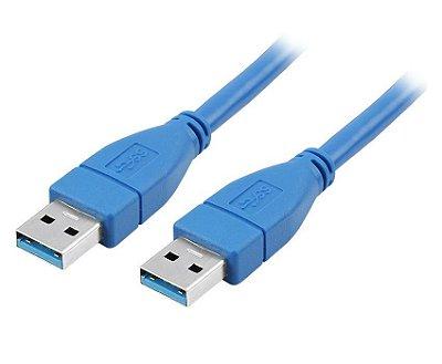 CABO USB 3.1 A MACHO X A MACHO 2MTS
