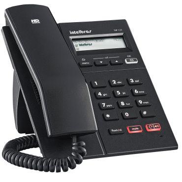 TELEFONE IP TIP 125 POE INTELBRAS