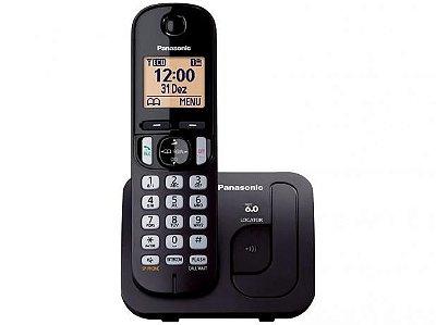 TELEFONE SEM FIO PANASONIC DECT 6.0 C/ID TGC210