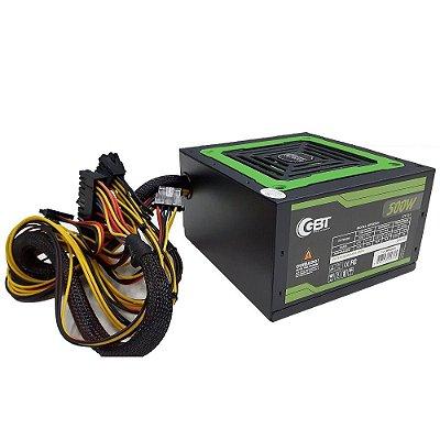 FONTE ATX 500W REAL GBT COM CABO MP500W3-1