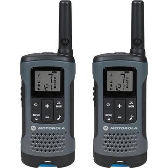 RADIO TALKABOUT 32KM MOTOROLA CINZA T200BR
