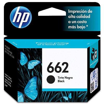 CARTUCHO TINTA HP 662 PRETO CZ103AB