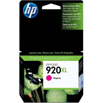 CARTUCHO TINTA HP 920XL MAGENTA CD973AL