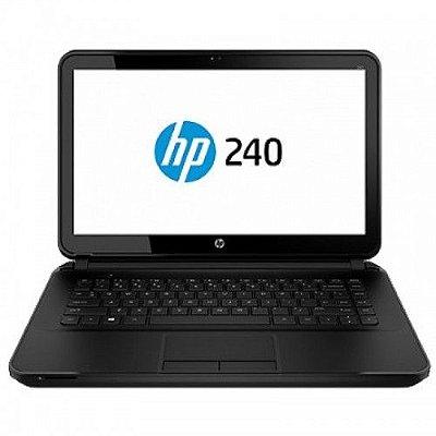 """Notebook HP 240 Intel Core I3-3110M, 4GB DDR3L, 500GB, 14"""" Windows 7 Pro 64 Bits Português F7W19LT"""