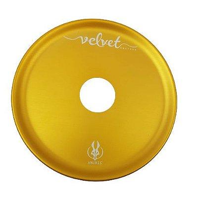 Prato Anubis Dourado Velvet