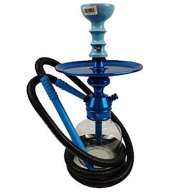 Narguile Completo Iniciante Triton - Azul