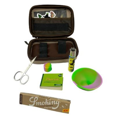 Kit Puff Grande Creme - Smoking  com Cuia