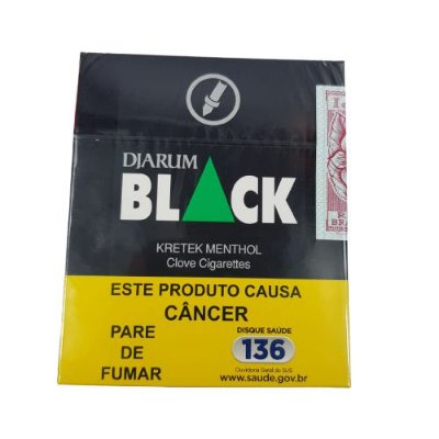 Cigarro Djarum Black  - Kretek Menthol