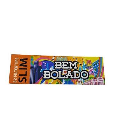 Piteira Bem Bolado Pop Slim - 32 Unidades