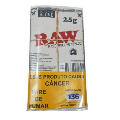 Tabaco Raw Hand Rolling Blond - 25g