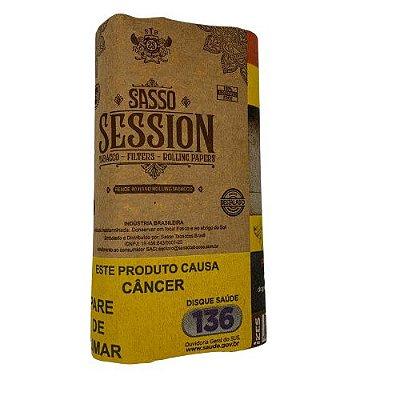 Tabaco Sasso Session com Seda e Filtro