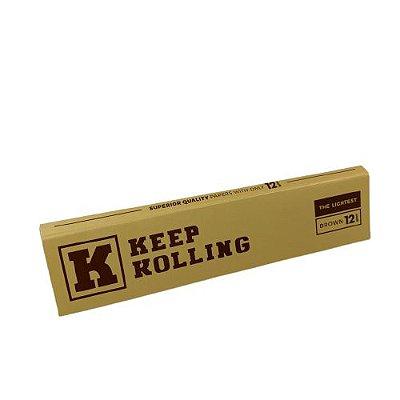 Seda Keep Rolling Brown 110mm - 33Folhas