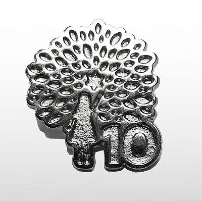 Pin Metalizado - Logo e 10