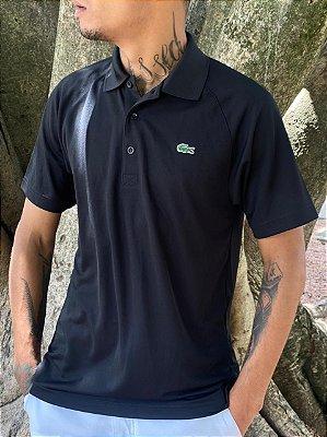 Camisa Polo Lacoste Super Light Masculina - Preto