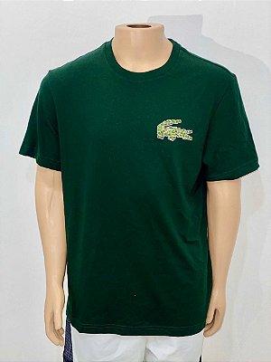 Lacoste Camiseta Magic Croc Verde
